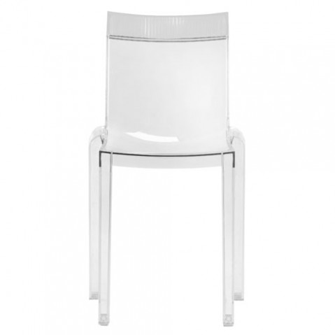 Hi Cut Chaise Design Kartell Transparent Cristal