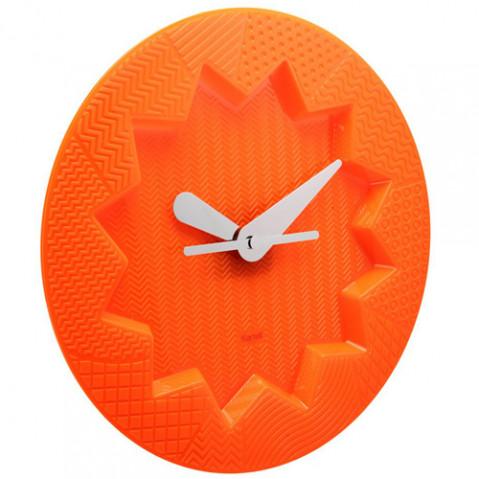 horloge murale crystal palace kartell orange