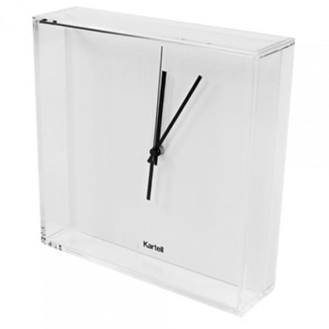 horloge tic tac kartell blanc