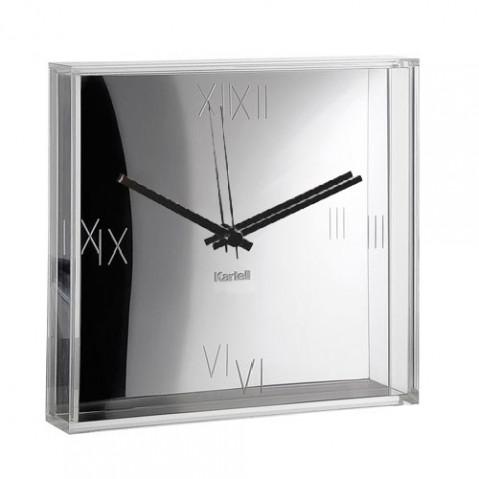 Tic & Tac Horloge Design Kartell Chrome
