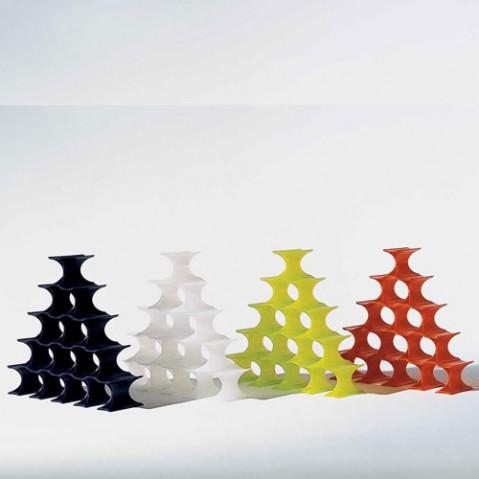 Infinity Range Bouteilles Design Kartell Jaune Vert