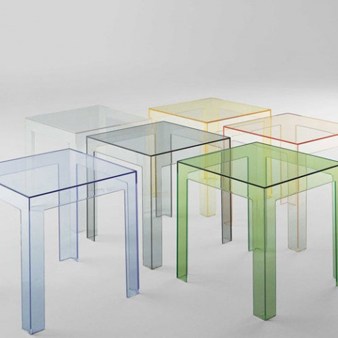 Jolly Table Basse Design Kartell Bleu Ciel