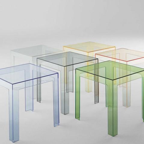 Jolly Table Basse Design Kartell Noir