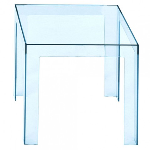 Jolly Table Basse Design Kartell Bleu Ciel