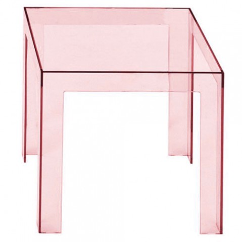 Jolly Table Basse Design Kartell Rose