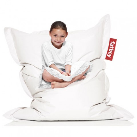 Fatboy Junior Pouf Enfant Blanc