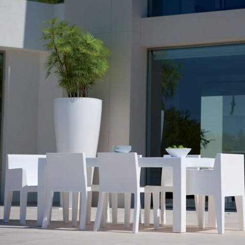 Jut Mesa 180 Vondom table haute Design