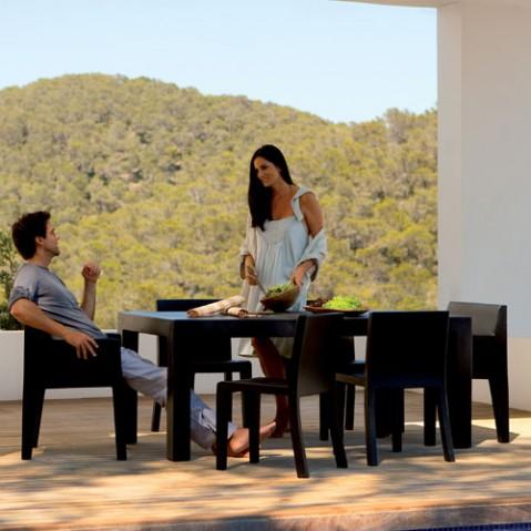 Jut Mesa 180 Vondom table haute Design
