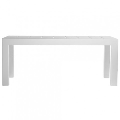 Jut Mesa 180 Vondom table haute Design blanc