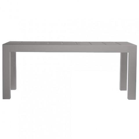 Jut Mesa 180 Vondom table haute Design gris