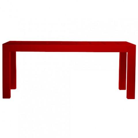 Jut Mesa 180 Vondom table haute Design rouge