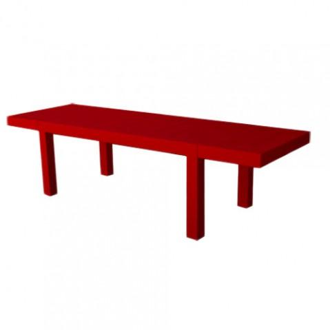 Jut Mesa 280 Vondom table design rouge