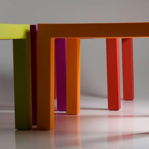 Jut Mesa 90 Vondom table haute Design