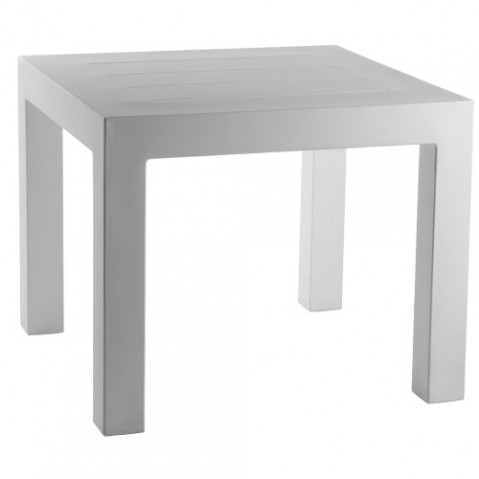Jut Mesa 90 Vondom table haute Design blanc