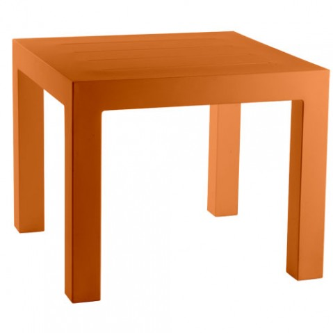 Jut Mesa 90 Vondom table haute Design orange
