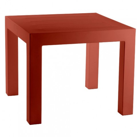 Jut Mesa 90 Vondom table haute Design rouge