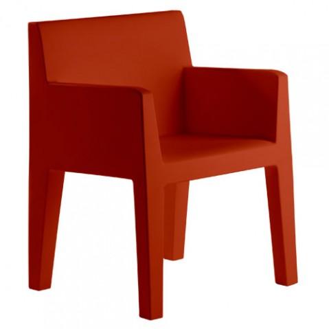 Jut Sillon Vondom fauteuil design rouge