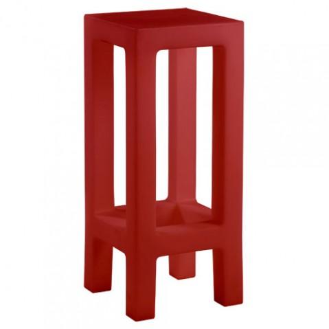 Jut Taburete Vondom tabouret de bar design rouge