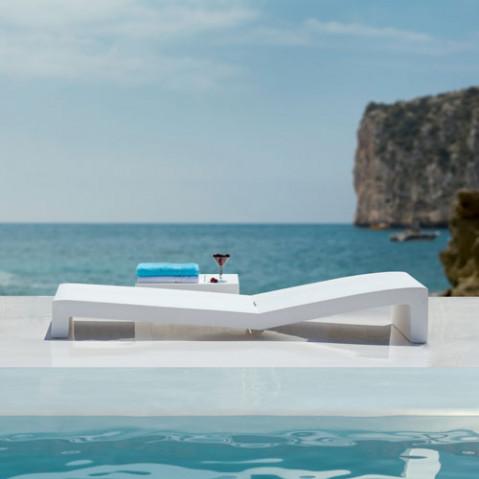 Jut tumbona Vondom bain de soleil design