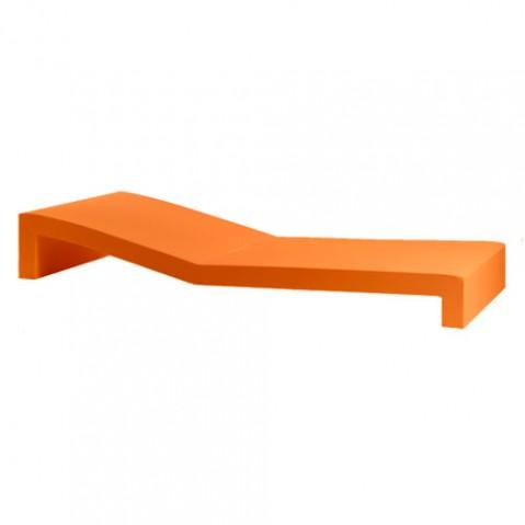 Jut tumbona Vondom bain de soleil design orange