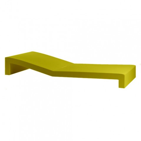 Jut tumbona Vondom bain de soleil design vert