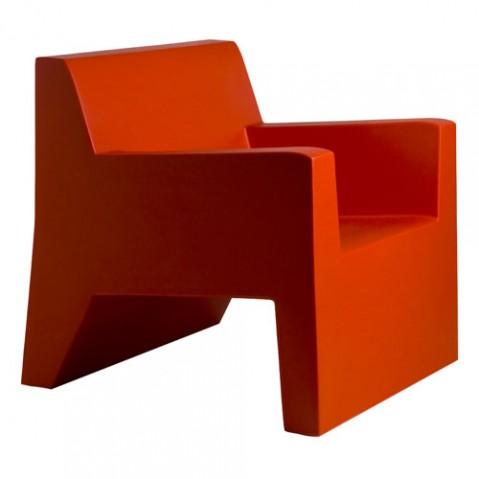 Jut Butaca Vondom Fauteuil Design rouge