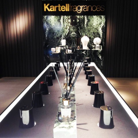 recharge diffuseur parfum kartell fragrances ghost diamond