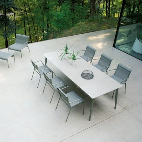 table rallonge kira emu blanc