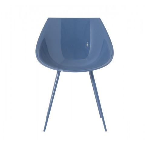 FAUTEUIL LAGÒ, Bleu de DRIADE