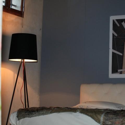 lampadaire eva martinelli luce alu blanc
