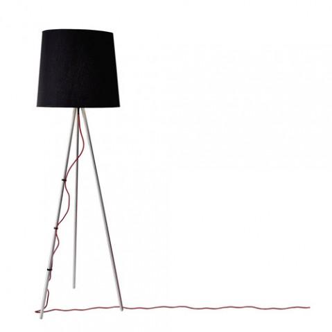 lampadaire eva martinelli luce alu noir