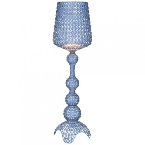 lampadaire kabuki kartell bleu