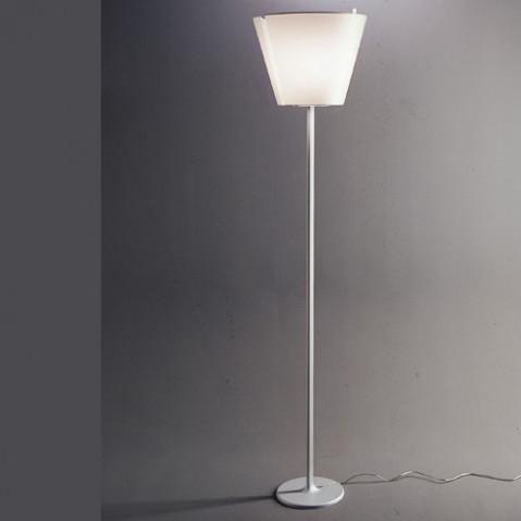 lampadaire melampo terra artemide aluminium