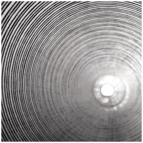 lampadaire mite led foscarini noir