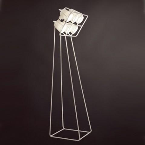 lampadaire multilamp seletti blanc