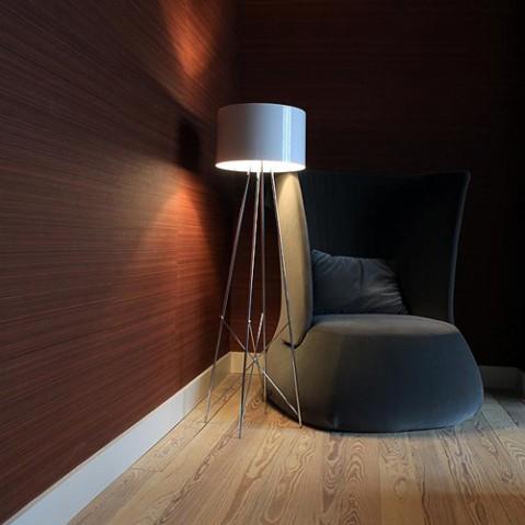 lampadaire ray flos verre