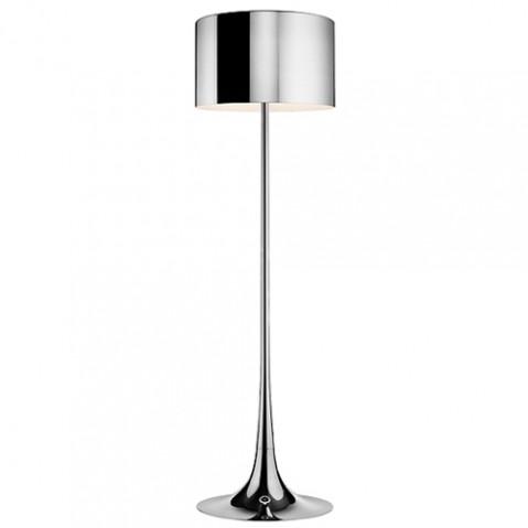 lampadaire spun light flos aluminium
