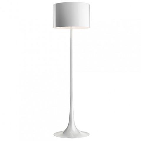 lampadaire spun light flos blanc