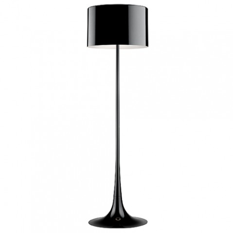 lampadaire spun light flos noir