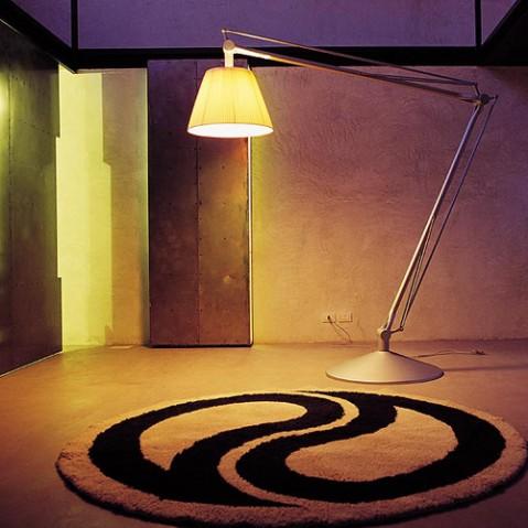 lampadaire super archimoon flos