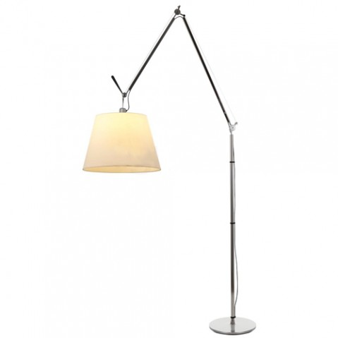 lampadaire tolomeo mega led 42 artemide parchemin