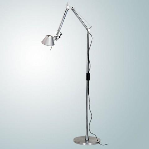 lampadaire tolomeo micro halogene artemide