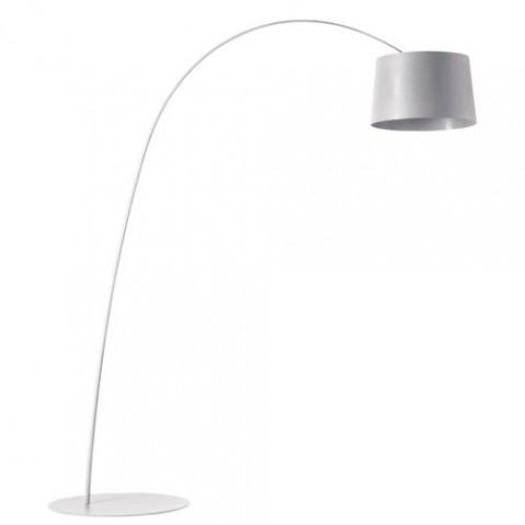lampadaire twiggy led foscarini blanc