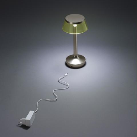 lampe sans fil bon jour flos blanc