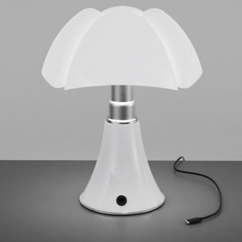 lampe minipipistrello portable martinelli luce brun