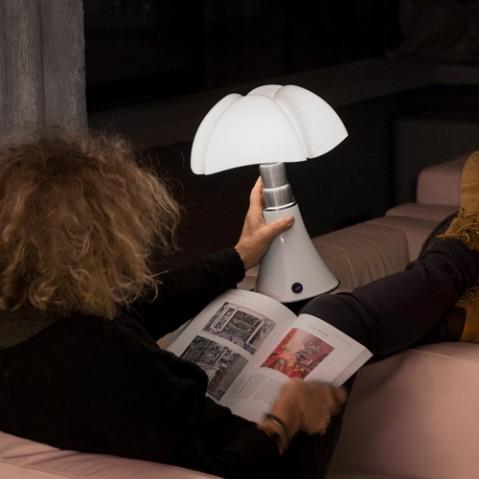 lampe minipipistrello portable martinelli luce blanc