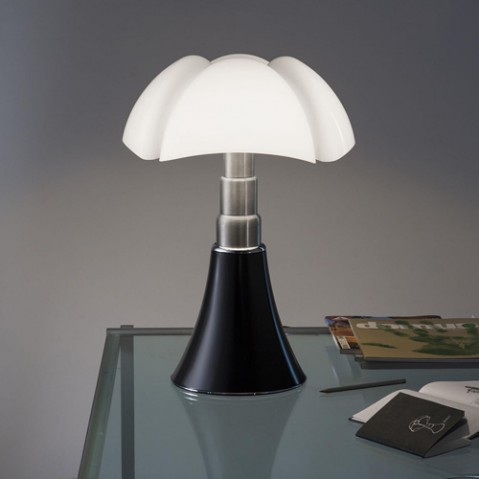 lampe pipistrello medium martinelli luce brun