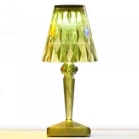 lampe poser battery kartell vert