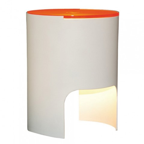 lampe poser civetta martinelli luce orange
