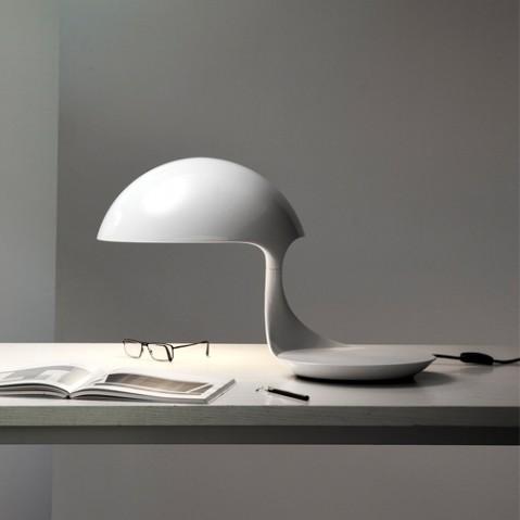 lampe poser cobra martinelli luce blanc